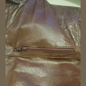 Men's leather jacket  -80's